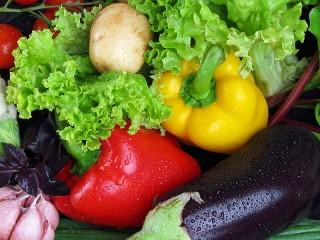 Собирать пазл Овощное великолепие онлайн