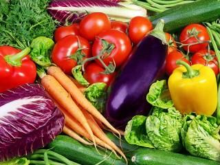 Собирать пазл Овощной микс онлайн