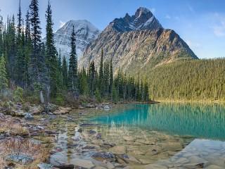 Собирать пазл Озеро онлайн
