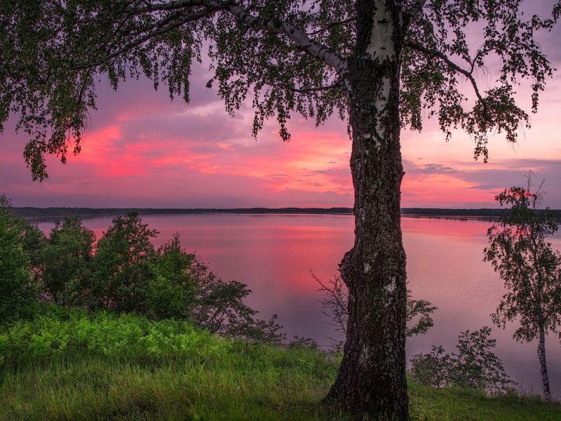 Пазл Собирать пазлы онлайн - Озеро Акатовское