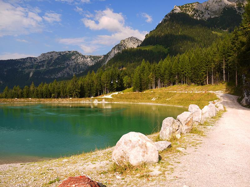Пазл Собирать пазлы онлайн - Озеро Бавария