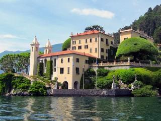 Собирать пазл Озеро Комо Италия онлайн