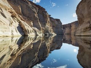 Собирать пазл Озеро Пауэлл онлайн