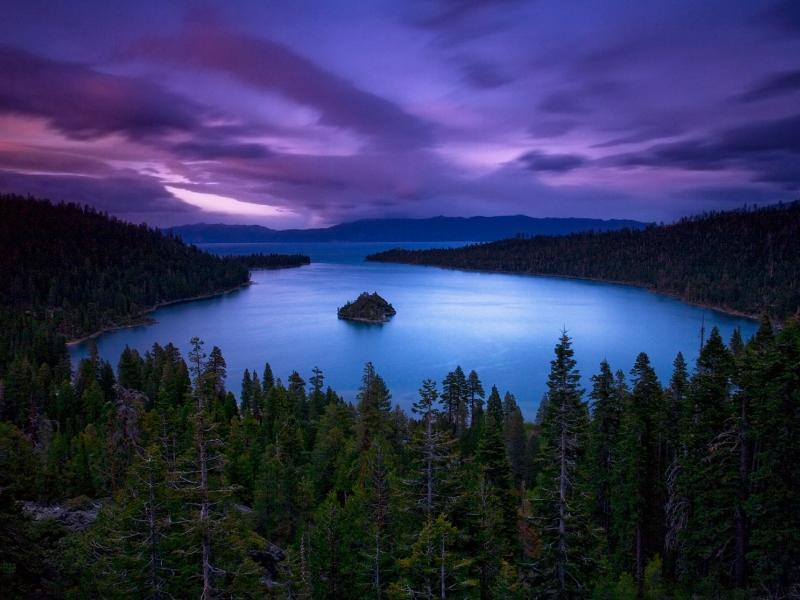 Пазл Собирать пазлы онлайн - Озеро Тахо