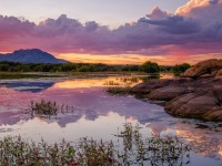 Собирать пазл Озеро Виллоу онлайн