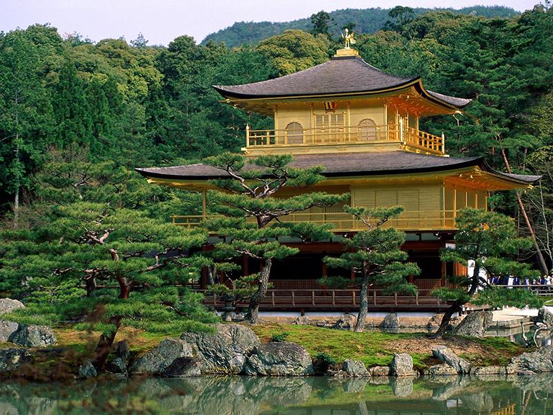 Пазл Собирать пазлы онлайн - Пагода в Киото