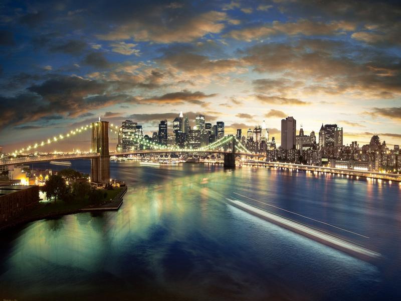 Пазл Собирать пазлы онлайн - Панорама города