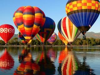 Собирать пазл Парад шаров онлайн