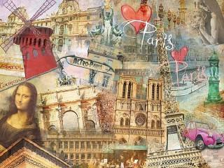 Собирать пазл Париж онлайн