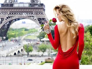 Собирать пазл Парижанка онлайн