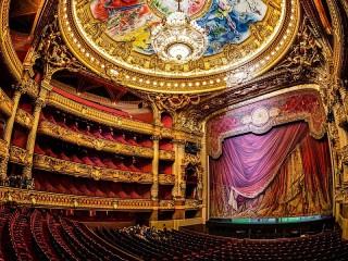 Собирать пазл Парижская Опера онлайн