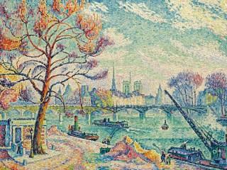 Собирать пазл Парижский мост онлайн