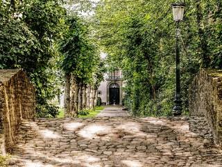 Собирать пазл Парк в Брюгге онлайн