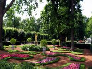 Собирать пазл Парк в цвету онлайн