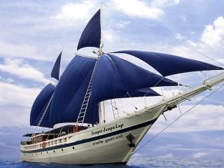 Собирать пазл Парусная Яхта онлайн
