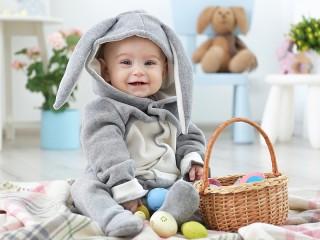 Собирать пазл Пасхальный кролик онлайн