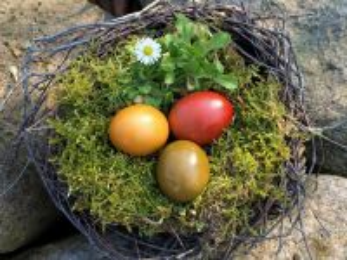 Собирать пазл Пасхальное гнездо онлайн