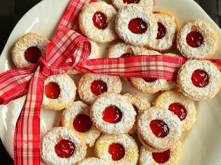 Собирать пазл Печенье и лента онлайн