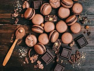 Собирать пазл Печенье и шоколад онлайн