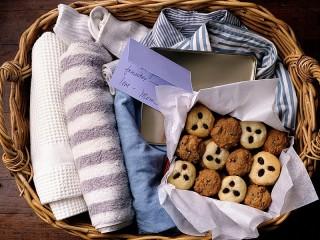 Собирать пазл Печенье с запиской онлайн