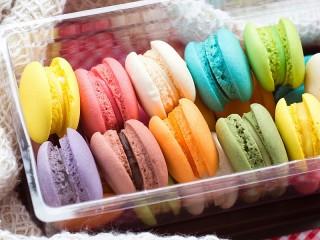 Собирать пазл Печенье в коробке онлайн