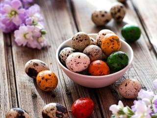 Собирать пазл Перепелиные яйца онлайн