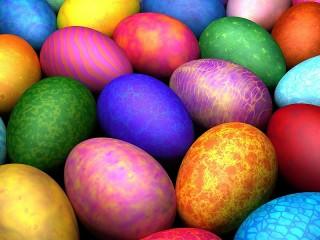 Собирать пазл Перламутровые яйца онлайн