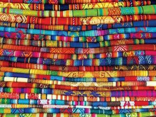 Собирать пазл Перуанские одеяла онлайн