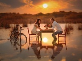 Собирать пазл Первое свидание онлайн