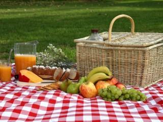 Собирать пазл Пикник на природе онлайн