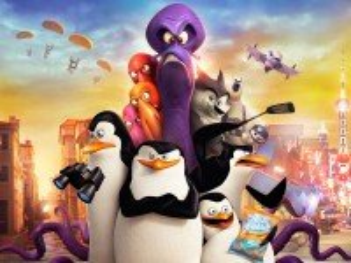 Собирать пазл Пингвины Мадагаскара онлайн