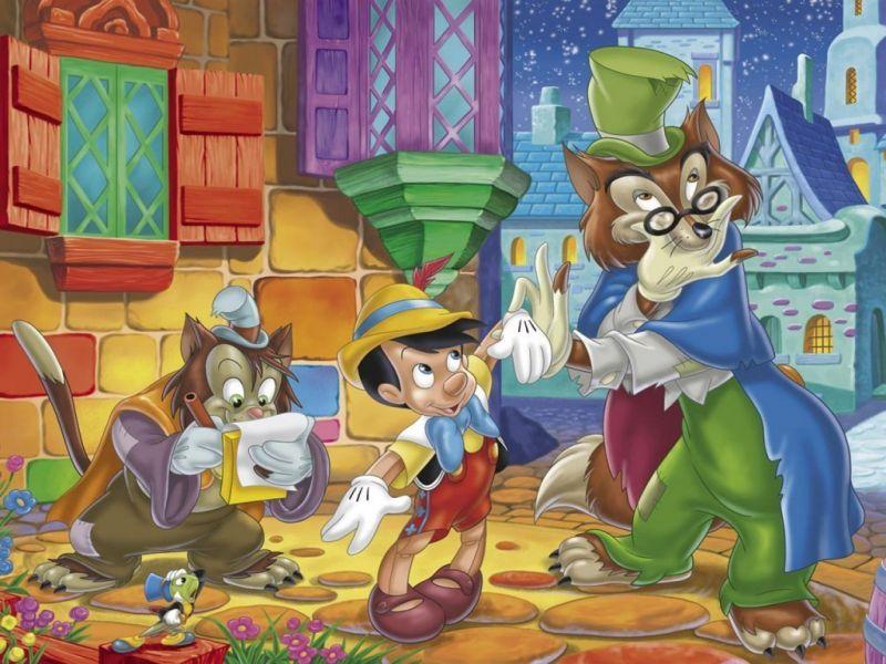Пазл Собирать пазлы онлайн - Пиноккио 3