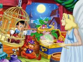 Собирать пазл Пиноккио онлайн