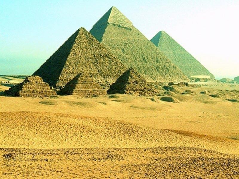 Пазл Собирать пазлы онлайн - Пирамиды