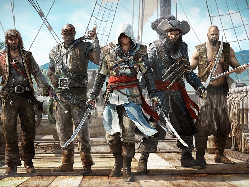 Пазл Собирать пазлы онлайн - Пираты