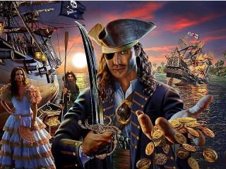 Собирать пазл Пираты онлайн