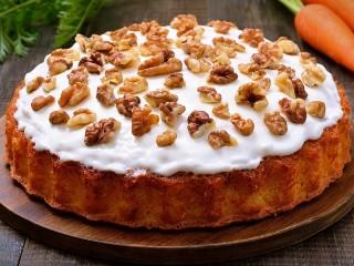 Собирать пазл Пирог под орехами онлайн