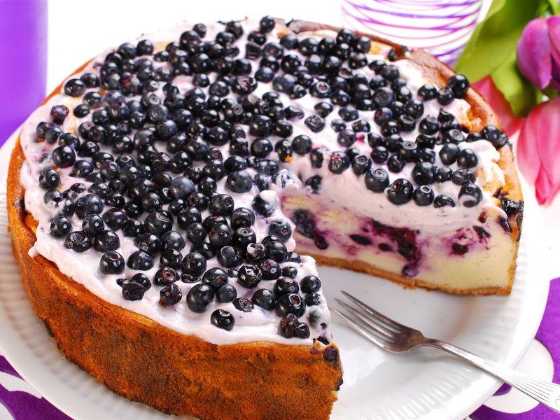 Пазл Собирать пазлы онлайн - Пирог с черникой
