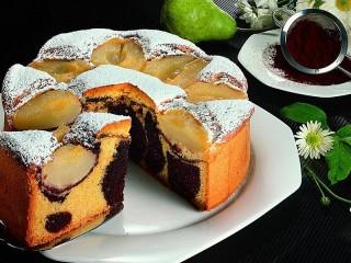 Собирать пазл Пирог с грушами онлайн
