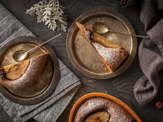 Собирать пазл Пирог с грушей онлайн