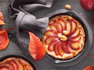 Собирать пазл Пирог с яблоками онлайн