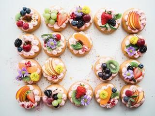 Собирать пазл Пироженки онлайн