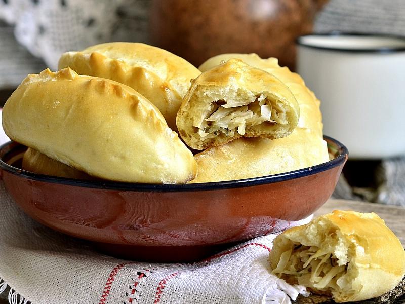 Пазл Собирать пазлы онлайн - Пирожки с капустой