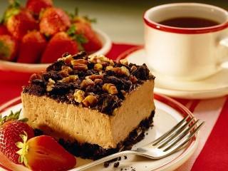 Собирать пазл Пирожное суфле онлайн