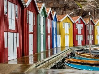 Собирать пазл Пирс в Швеции онлайн