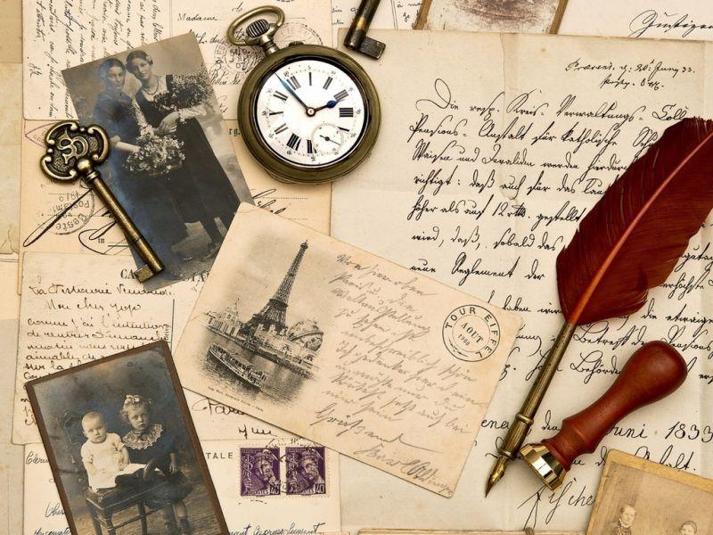 Пазл Собирать пазлы онлайн - Письма из прошлого