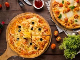 Собирать пазл Пицца с лимоном онлайн