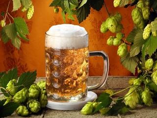 Собирать пазл Пиво и хмель онлайн