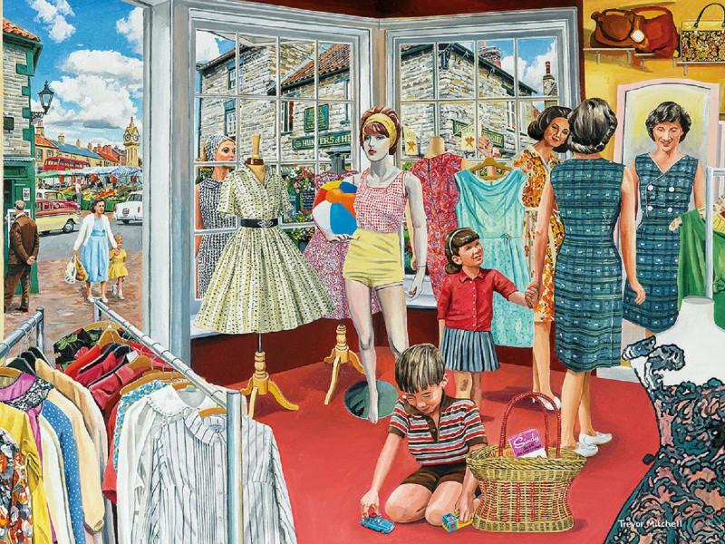 Пазл Собирать пазлы онлайн - Платье для мамы