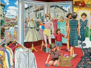 Собирать пазл Платье для мамы онлайн